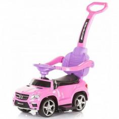 Masinuta de impins Mercedes Benz GL63 AMG Pink Chipolino - Vehicul