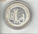 Bnk mnd Africa de Sud 1 RAND 1986 , moneda de argint