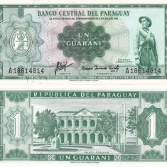 Paraguay 1 Guarani 1952 UNC - bancnota america