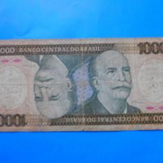 HOPCT BRAZILIA 1000 CRUZEIROS 1986 - bancnota america