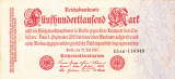 GERMANIA 500.000 marci 1923 XF!!!