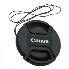 Capac obiectiv pe 58mm compatibil pentru obiective Canon - Capac Obiectiv Foto