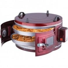 Cuptor electric rotund Harlem® Rustic, Doua tavi, 1300W, 36L