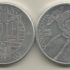 ROMANIA 1000 1.000 LEI 2003 [1] a UNC, livrare in cartonas - Moneda Romania, Aluminiu