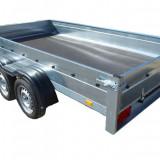 Remorca 750 Kg 300x160x30 cm cu 2 AXE - Utilitare auto