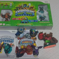 Skylanders Swap Force Starter Pack+ Giants CD+ Spyros Adventure CD+8 figurine - Jocuri WII Activision