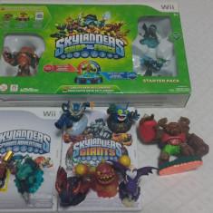 Skylanders Swap Force Starter Pack+ Giants CD+ Spyros Adventure CD+8 figurine - Jocuri WII Activision