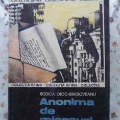 Anonima De Miercuri - Rodica Ojog-brasoveanu, 408393 - Carte politiste