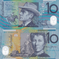 Australia 10 Dollars 2015 UNC