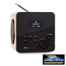 Auna Radio Gaga Internet Radio WLAN / LAN DAB / DAB + FM USB AUX - Aparat radio