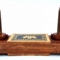 Presa antica pentru carti de joc, Poker, Canasta, Romme