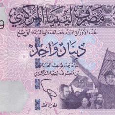 Libia 1 Dinar 2013 UNC - bancnota africa
