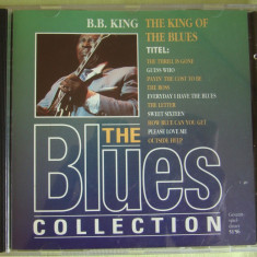 B B KING - The King Of The Blues - The Blues Collection - C D Original ca NOU, CD