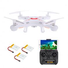 Drona Syma X5C-1 Wifi transmisie telefon FPV 2.4G + Bonus 2 baterii de rezerva