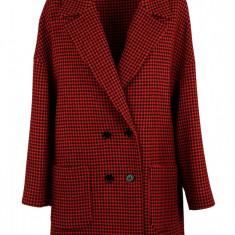Palton Valentino Red - Palton dama, Marime: 42, 40, Culoare: Rosu