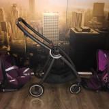 Carucior modular gb Maris Posh Pink +Scaunul auto pentru copii Cloud Q, Violet