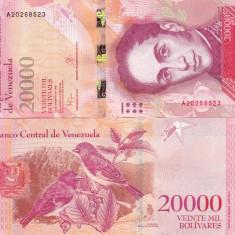 Venezuela 20 000 Bolivares 18.08.2016 UNC