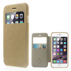 Husa APPLE iPhone 6\6S - WOW Mercury (Auriu) - Husa Telefon
