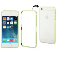Bumper Aluminiu APPLE iPhone 5C (Verde) - Bumper Telefon