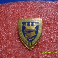 Insigna !-ul schimb de insigne Arad 1989 - Insigna fotbal