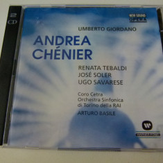Umberto Giordano - Andrea Chanier - 2 cd - Muzica Opera warner
