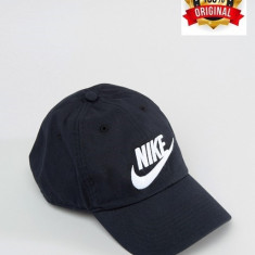 Sapca Nike Futura Washed - Originala - Reglabila - Bumbac - Detalii in anunt - Sapca Barbati Nike, Marime: Marime universala, Culoare: Negru