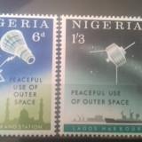 Nigeria 1963 Cosmos serie mnh - Timbre straine, China, An: 1993, Transporturi, Nestampilat