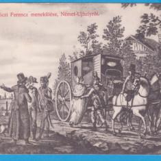 CARTE POSTALA AUSTROUNGARIA - STAMPILA DIN 1914 - FUGA LUI RAKOCZI FERENCZ, Circulata, Printata