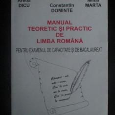 Manual teoretic si practic de limba romana pentru examenul de capacitate si bacalaureat - Manual scolar