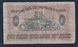 Cehoslovacia 1 Koruna 1919 P#6