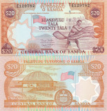 Samoa 20 Tala 2002 Semnatura b UNC