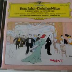 Franz Lehar - Die lustige Witwe - cd - Muzica Clasica Deutsche Grammophon