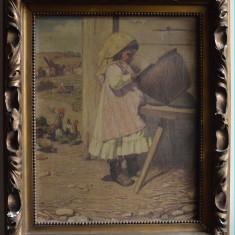ULEI / PANZA  PEISAJ LA TARA 40 x 50 CM SEMNAT DR.JOS E. URBANSKI DE NIECZUJA, Peisaje, Realism