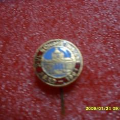 Insigna 1-ul schimb de insigne Arad 1981 - Insigna fotbal