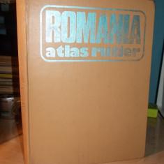 GEN. DR. DRAGOMIR VASILE - ROMANIA * ATLAS RUTIER - 1981