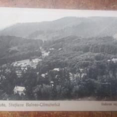 Carte postala veche, Sovata ,statiune Balneo-Climaterica din 1925