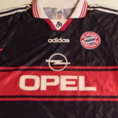 Tricou fotbal (vechi) - BAYERN MUNCHEN (nr.7 Scholl) - Tricou echipa fotbal, Marime: L, Culoare: Din imagine, De club, Maneca scurta