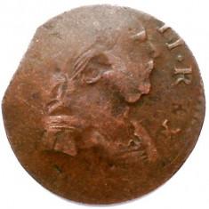 MAREA BRITANIE, GEORGE III, FARTHING?, Europa, An: 1770, Cupru (arama)