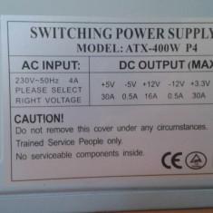Vand sursa PC Switching power supply model ATX-400w P4