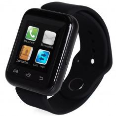Smartwatch iUni U900i Plus, Bluetooth, LCD 1.44 Inch, Negru