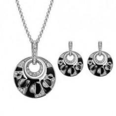 Set bijuterii cu forma rotunda - Set bijuterii handmade si fashion