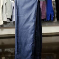 Pantaloni barbati, Culoare Bluemarin, Slim Fit, Ucu Dima, Cod: Pantaloni B. 1029 Bluemarin (Culoare: Bluemarin, Marime Pantaloni: 42)