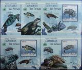 INS.COMORE - BROASTE TESTOASE, 2009, 5 S/SH D LUX, NEOB. - ICO 01, Fauna