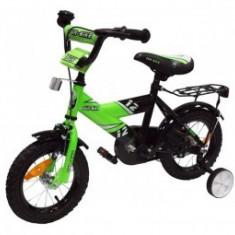 Bicicleta pentru copii Fun Bike Green 12 - Bicicleta copii