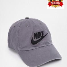 Sapca Nike NSW Washed Gri - Originala - Reglabila - Bumbac - Detalii in anunt - Sapca Barbati Nike, Marime: Marime universala