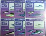 INS.COMORE - DELFINI, 2009, 6 S/SH D LUX, NEOB. - ICO 04, Fauna