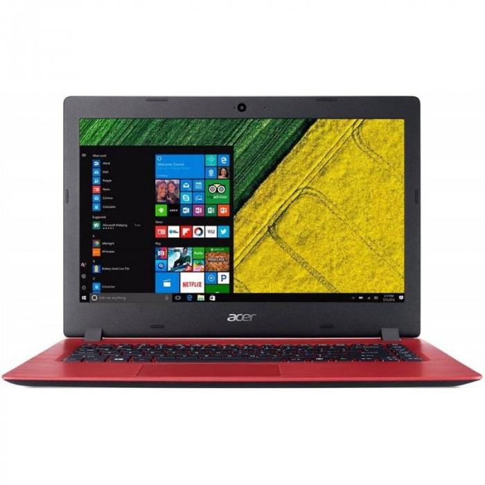 Laptop Acer Aspire A114-31 14 inch HD Intel Pentium N4200 4GB DDR3 64GB eMMC Windows 10 Home Oxidant Red foto mare
