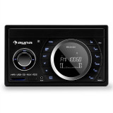 Stereo auto Auna MD-210 BT RDS Bluetooth FM USB SD AUX MP3 microfon 2-DIN 4x75W
