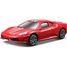 Masina cu Sunete si Lumini Ferrari 430 Scuderia Rosu - Masinuta Bburago