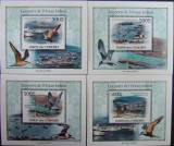 INS.COMORE - PASARI, 2009, 4 S/SH D LUX, NEOB. - ICO 08, Fauna